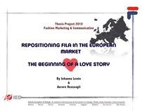 Fila Europe, A Collaboration Strategy