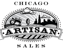 Chicago Artisan Sales Logo and Business Card