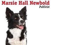 Promotional handout for Newbold publicist