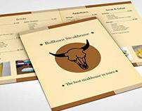 Bullhorn Steakhouse Menu