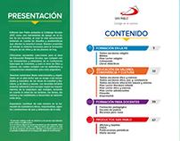 Catálogo escolar San Pablo 2017