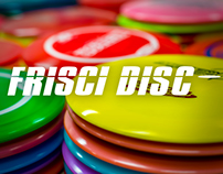 Frisci Disc Disc Golf - website design project