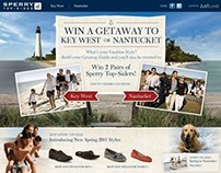 Sperry Top-Sider's Win a Getaway Campaign for JustLuxe