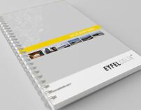 Eyfel Çelik Spiral Notebook