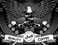 Quills Coffee Staff Apparel