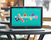 "Website ""Flower Shop"""