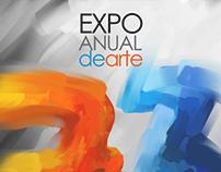 Propuestas de afiches para la Expo arte PUCP