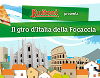 Buitoni, the launch of New Focaccia on Facebook.