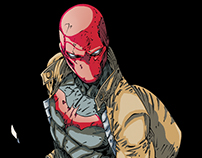 Red Hood - Coloring Process