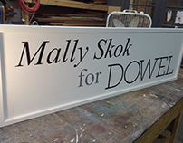 Mally Skok for Dowel