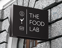 THE FOOD LAB identity