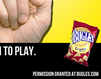 Bugles Advertising Campaign