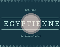 Egyptienne Font