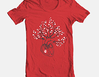 Love/Faith Grows T-shirt Design Entry for Threadless