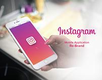 Instagram App Re-Brand