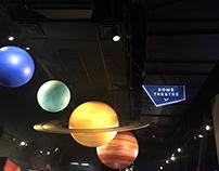 Clark Planetarium Wayfinding Signage