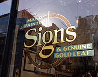 Luminor Sign Window