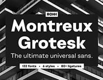 Montreux Grotesk™ - the ultimate universal sans!
