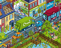 Environmental Illustrations for DEFRA White Paper