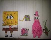 Sponge bob drawings x