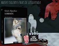 Book trailer: 'Lobisón' de Ginés Sánchez