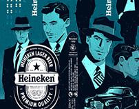 Heineken Bottle. Packaging.