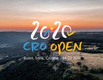 CRO OPEN 2020 | Visual Identity