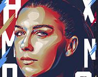Women Sports Portraits - Adobe Fresco