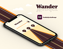 Wander - XD Daily Challenge Day 3 - September 2019