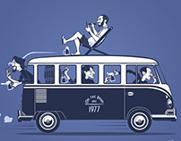 Volkswagen Bus illustration