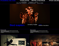 Theater - Promotional website
