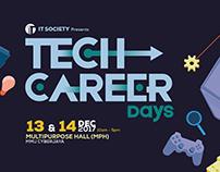 Tech Career Days Event Branding