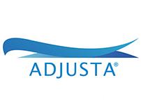 ADJSUTA Logo e Identidade