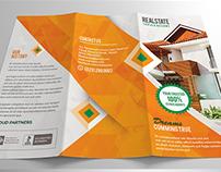 Modern Tri Fold Real Estate Brochure
