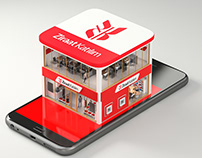 Mobile Branch Ad for Print