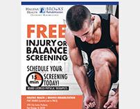 Brooks Rehab Flyer