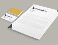 Vareberg Engineering Logo & Web Re-Design