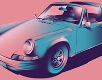 Porsche 911 Convertible (1970)
