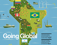 Illustrations: Raconteur covers Q3 - Q4 2012