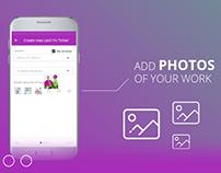TL app | How to create a card