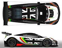 McLaren 650S Strakka Racing Spa 24h