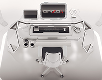 Saturn desk concept