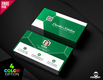 Classic Business Card Free PSD Bundle