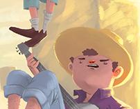Blues Boys /// ChildsBooks Illustration