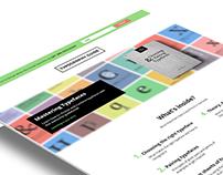 Typography Guide, ebook & website