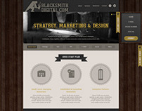 Digital Agency Blacksmithdigital.com wesite design