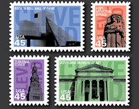 Cleveland Themed Stamps