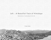 Leh - A Beautiful Face of Himalaya | Illustrations