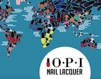 Nail Polish Map