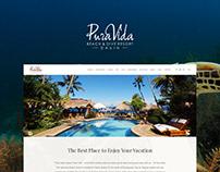 PuraVida - Beach and Dive Resort Website